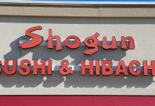 shogun sushi and hibachi