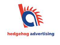 Hedgehog Advertising Logo